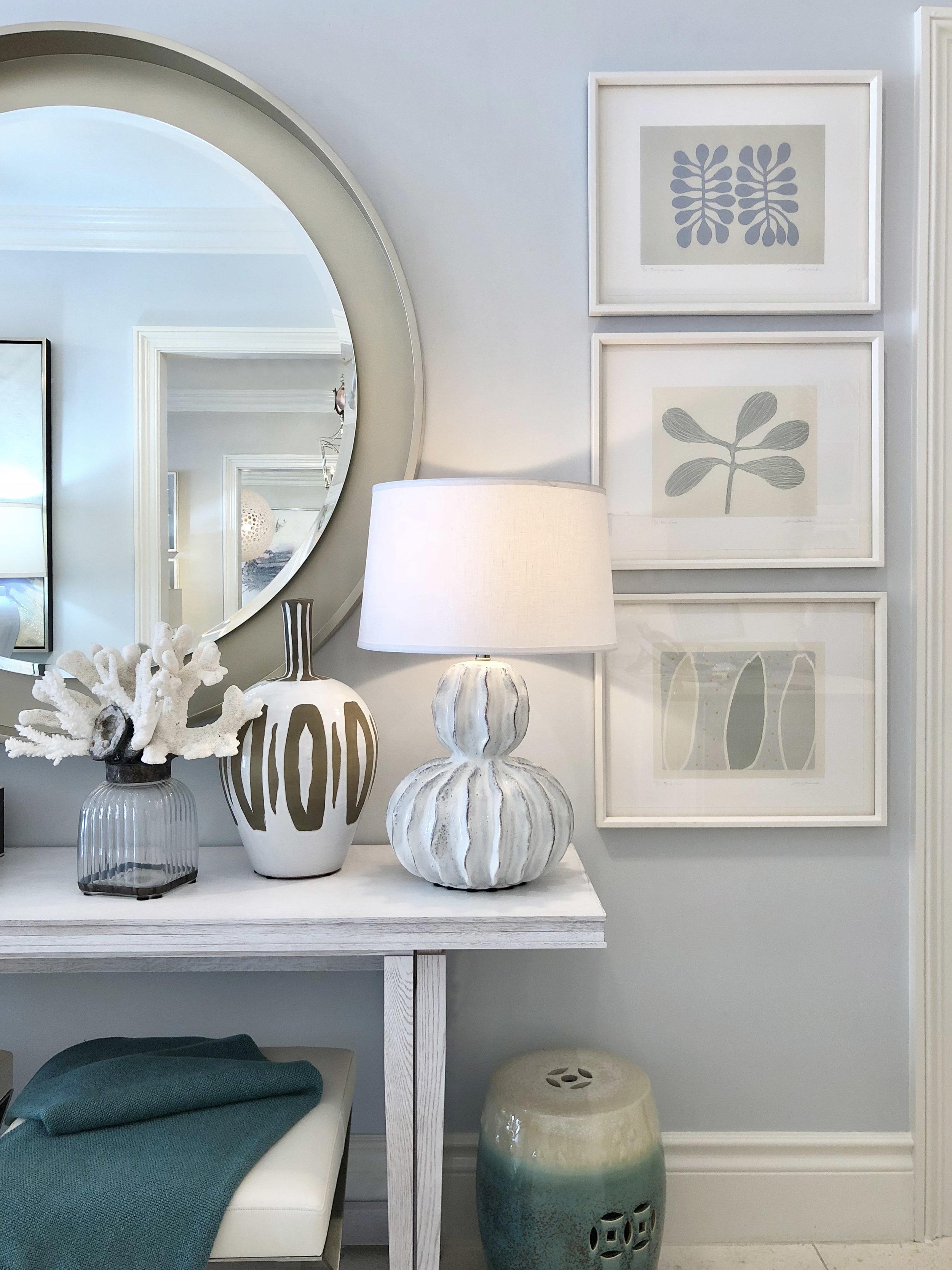 Ocean Gourd Table Lamp