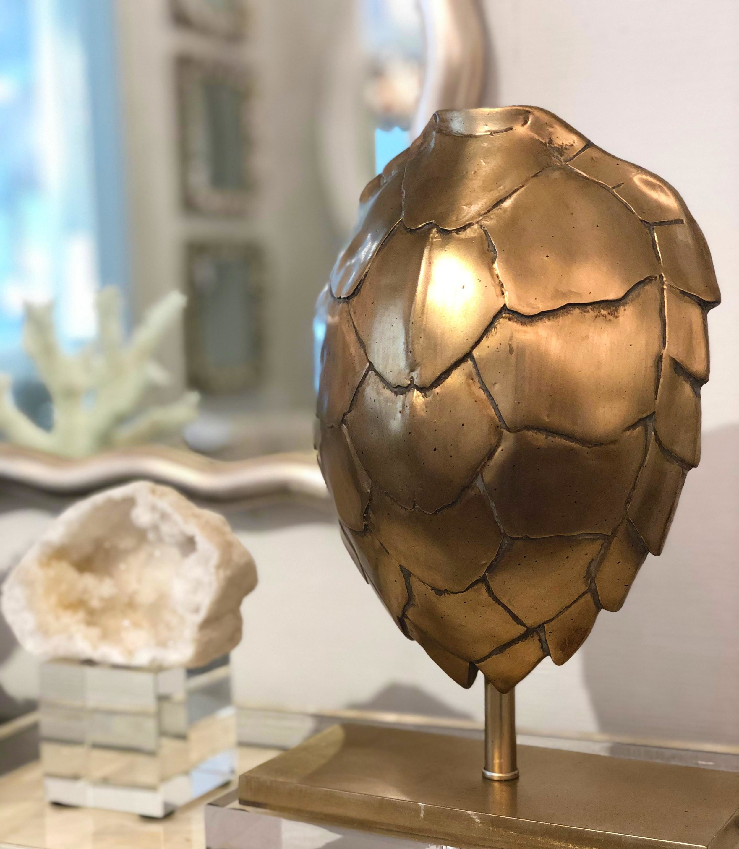 Gold Turtle Shell