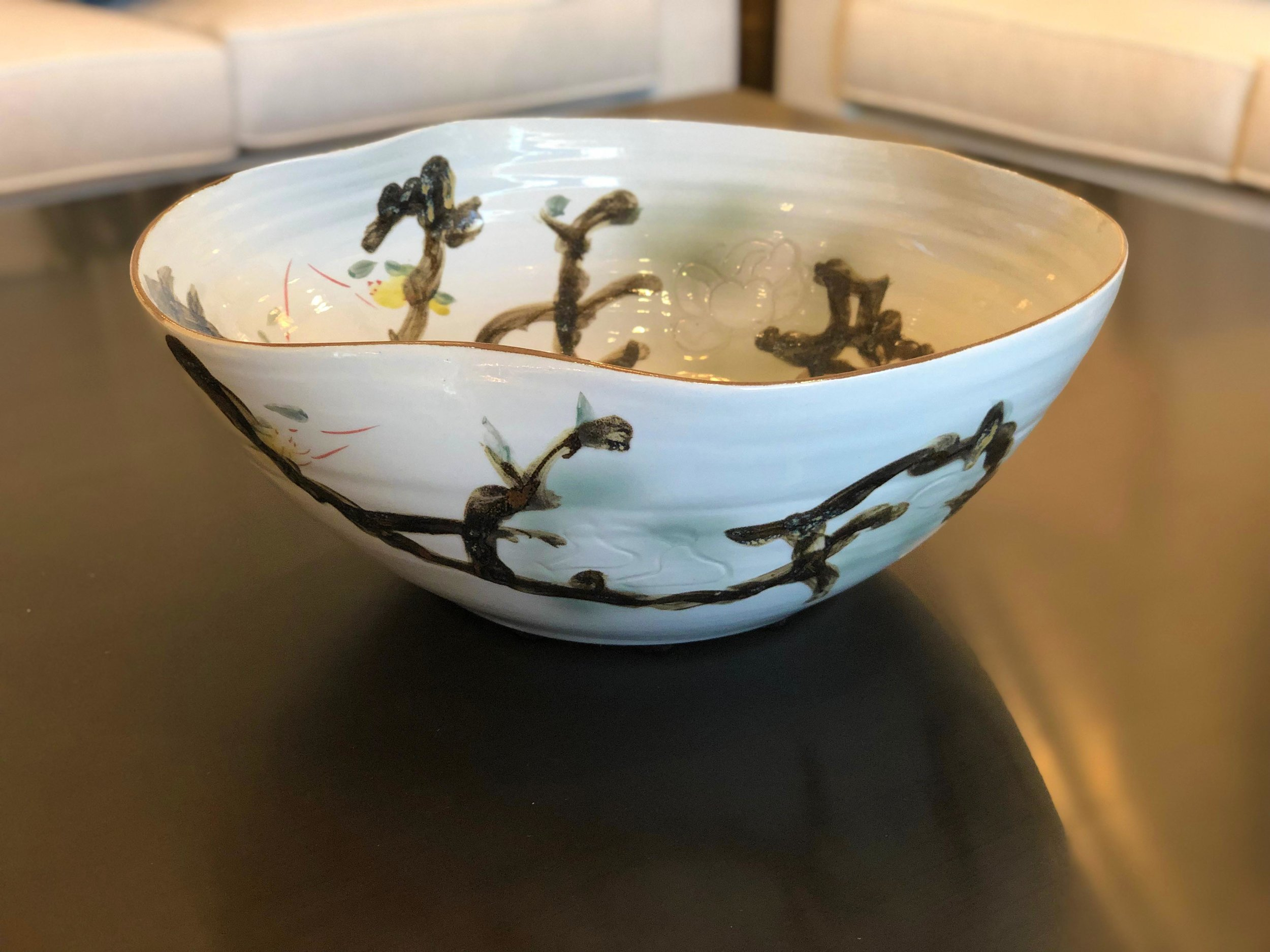 Organic Rim Bowl