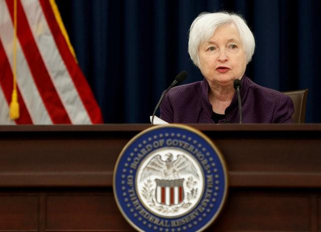 United States Federal Reserve Chair Janet Yellen holds a news conference following the two-day Federal Open Market Committee meeting in Washington, U.S., September 21, 2016. (Reuters picture)