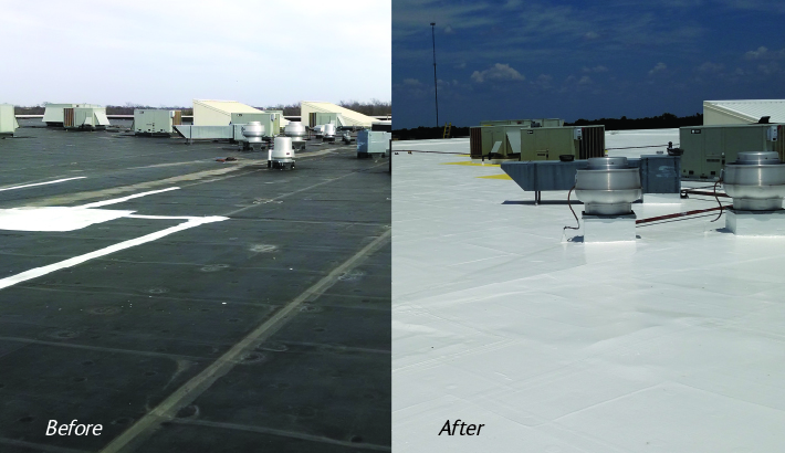 Silicone Roof System