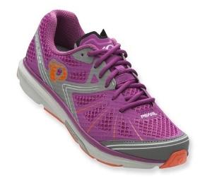 Looks like a running shoe, clips in like a bike shoe. Yay!