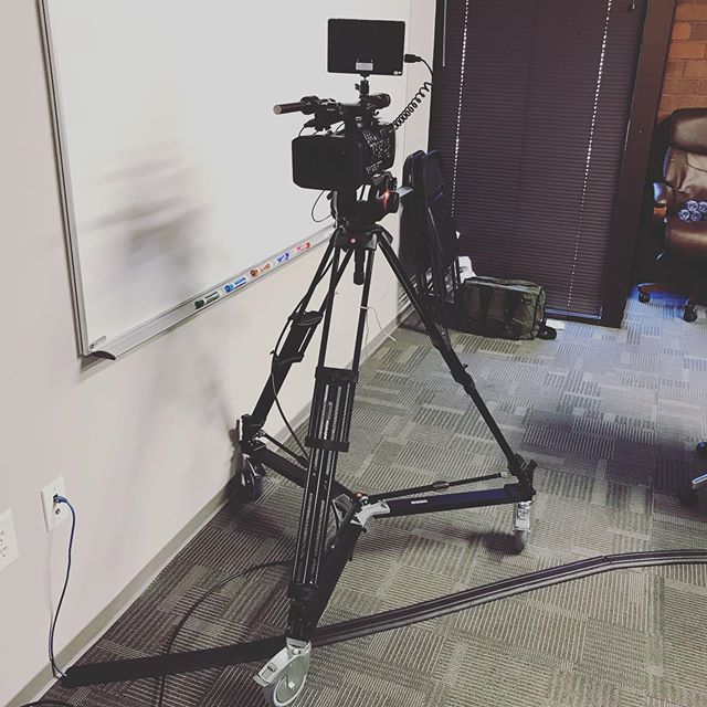 Swipe to go live   Featuring a dolly camera, 10 wireless mics and over 600' of cable. All wireless receivers and camera moved between rooms with a changeover time of less than 5 minutes 🕚