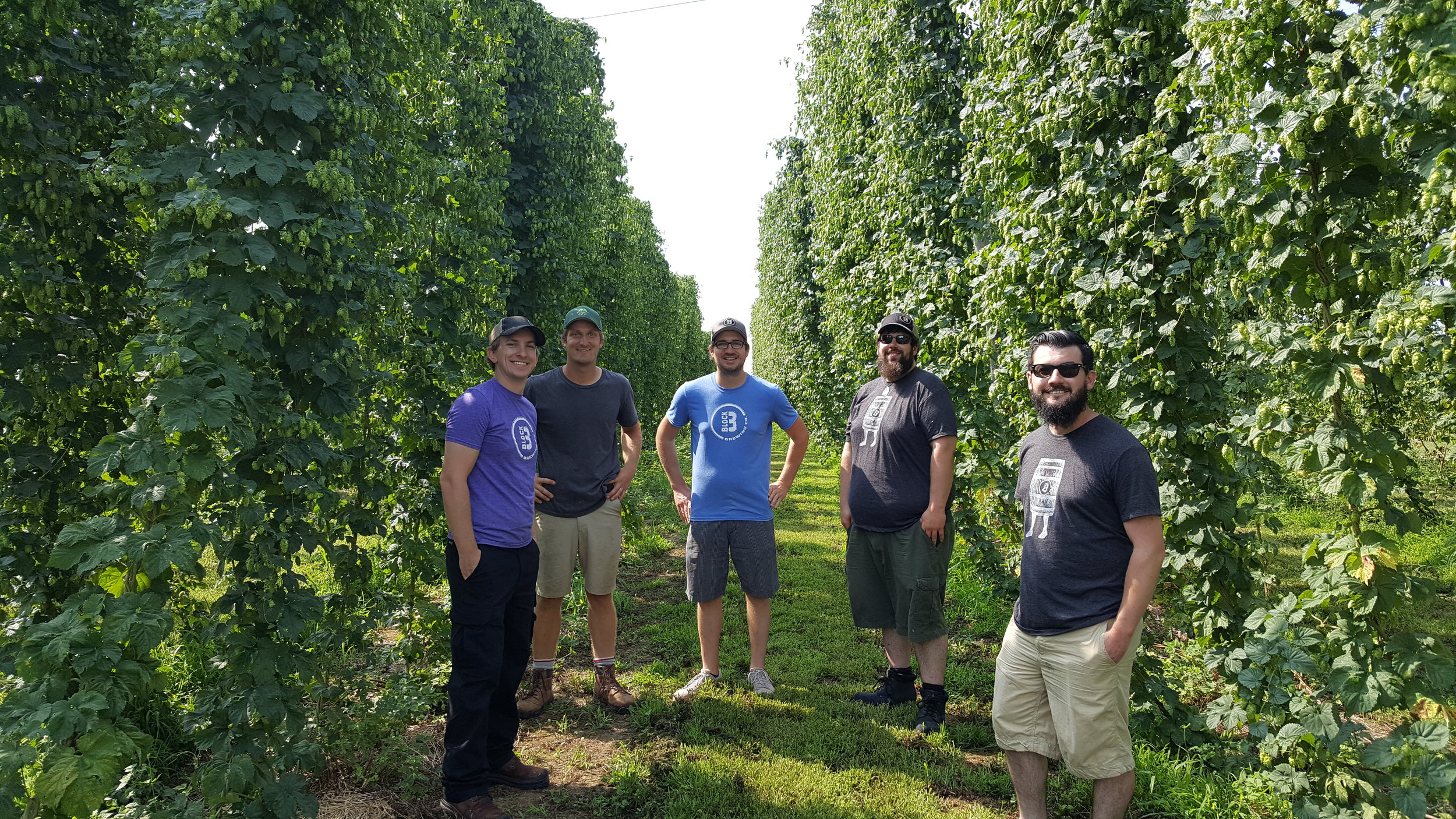 Block 3 Brewing comes to visit 2016