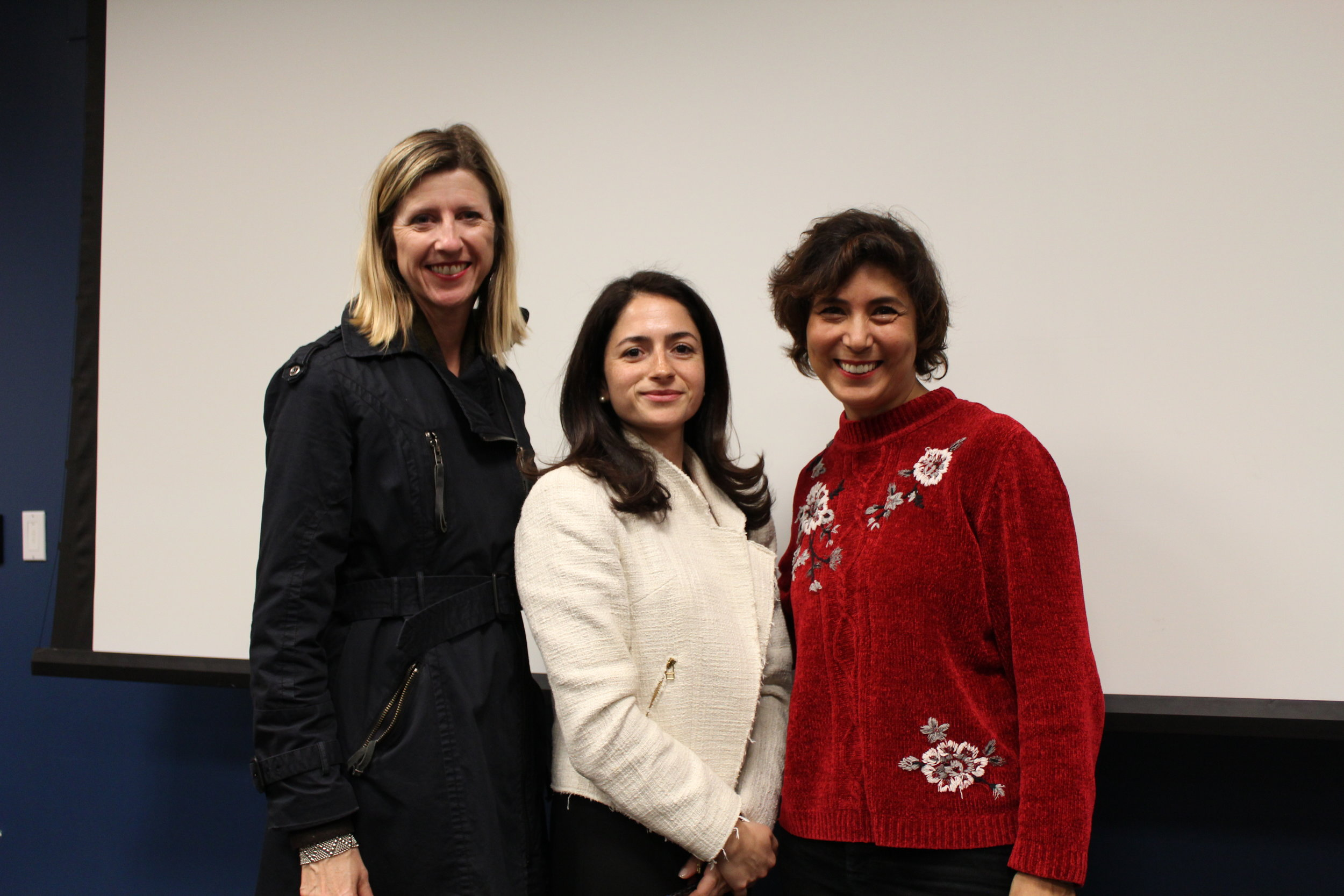 GlocallyConnected founders, Dr. Selin Nielsen and Sherry Mackay with the Turkish Consul General Los Angeles.