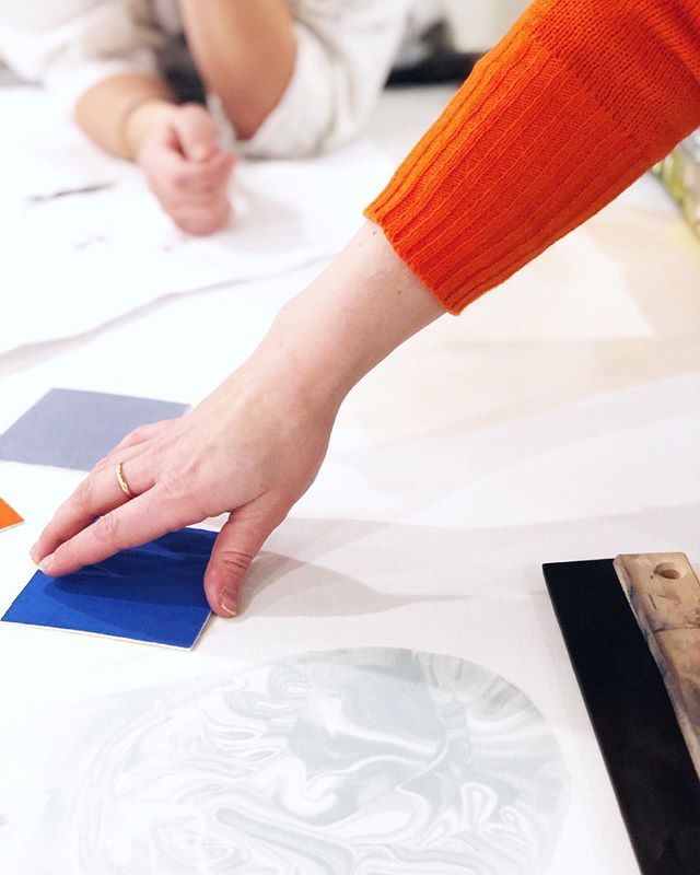 Colors is a huge part of our design process. We always experiment with different tones before the final design. This is from when we made our design for @norweigianpresense in @statensvaerksteder • Stop by Via Savona 35 (if you're in Milan) to see the final result and a lot of great Norwegian design and craft👌🏼