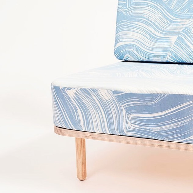 The last one up is our Wave chair🌊 Se it at the @dawnexhibition in @nomadworkspace during @3daysofdesign