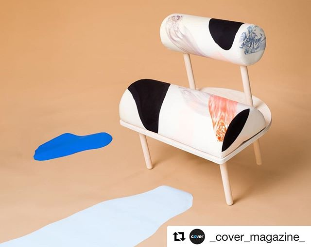 #Repost @_cover_magazine_ ・・・ Danish-Norwegian design duo @mijostudio will exhibit the latest editions to their chair collection at the @dawnexhibition in @nomadworkspace during Copenhagen's @3daysofdesign, 23-25 May 2019. . Their playful fabric design is sure to grab a lot of attention. Used on foam forms the textile's 'sculptural shapes and dynamic handprinted pattern' invite the viewer to interact. . Experience wonderful contemporary design, from a wide range of exhibitors, at Denmark's annual @3daysofdesign celebration in Copenhagen, 23-25 May 2019. . #design #danishdesign #norwegiandesign #designduo #mijostudio #designer #exhibition #chairs #chairdesign #fabric #chairfabric #contemporarydesign #dawnexhibition #nomadworkspace #copenhagen #designincopenhagen #3daysofdesign #fabricdesign #handprinted #pattern #denmarkdesign #interiordesign #art #interior #covermag2005 #textiles #handmade #interiors #contemporary