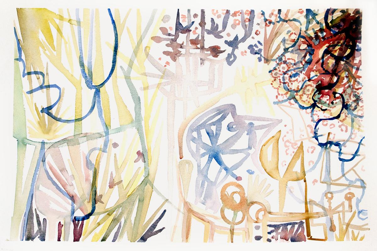 VENUS  Watercolor on Paper 22x 30 inches (56 x 76 cm)