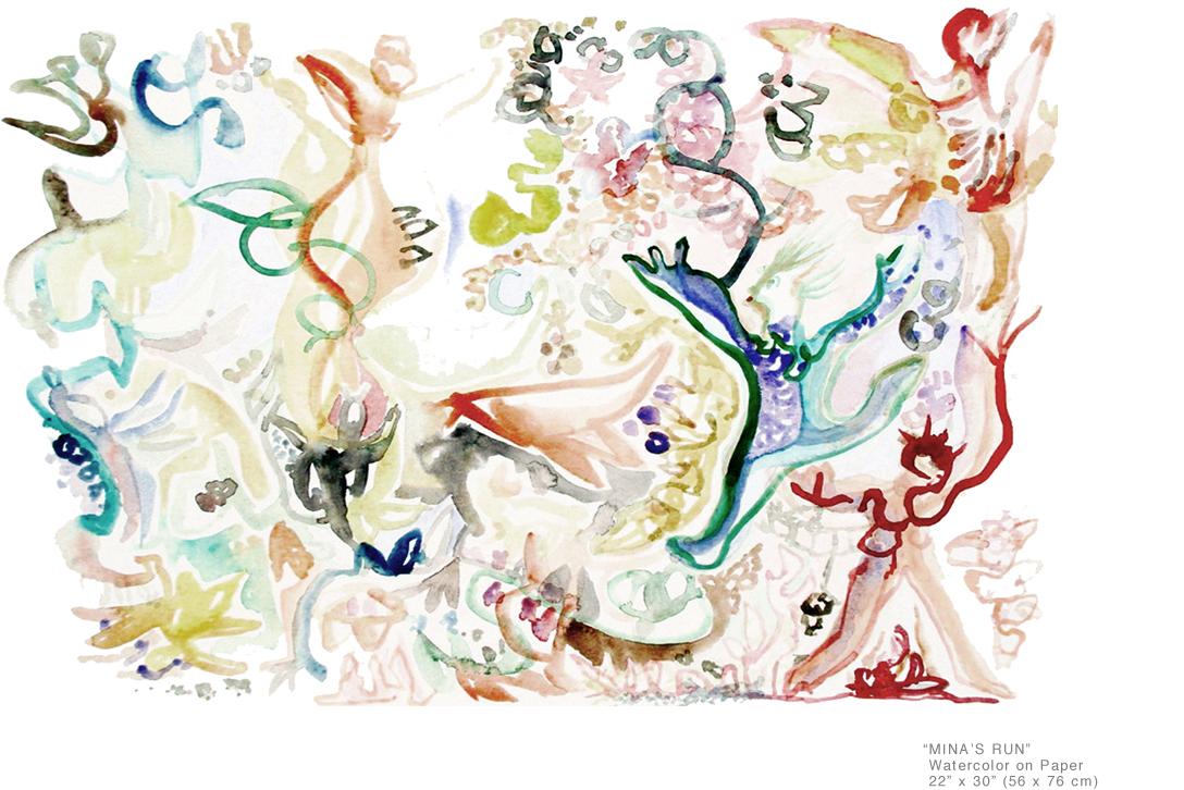 Mina's Run watercolor on paper 20 x 30 inches_BestArtists inNY_001.jpg