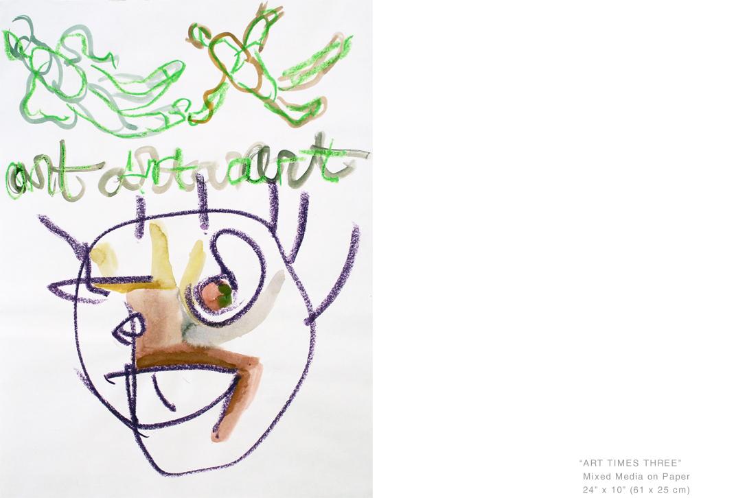 ArtTimesThreeMixed Media on Paper24 x 10 inches - Joe Ginsberg_ArtistsToCollect.jpg