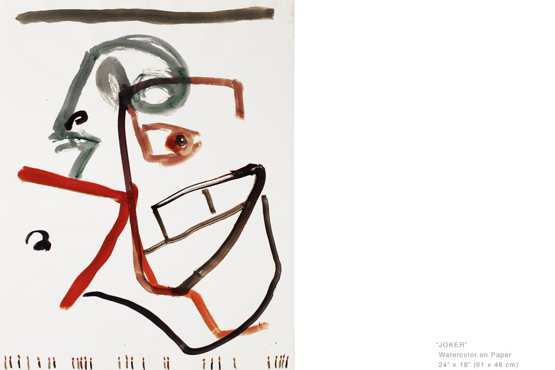 JokerWatercolorOnPaper24x18inches-EstablishedArtists-JoeGinsberg.jpg