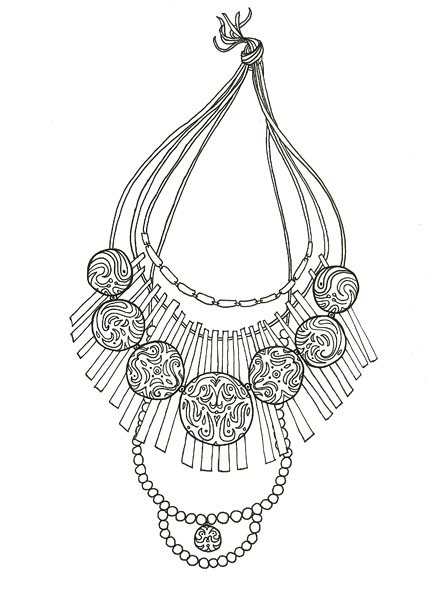 Layered Neclace