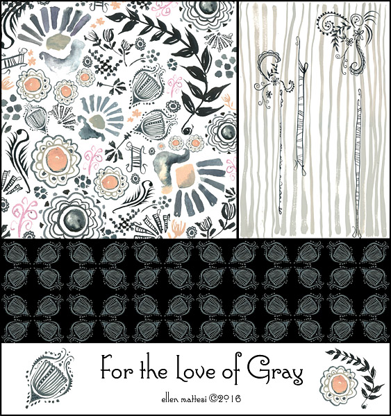 For the Love of Gray Patterns