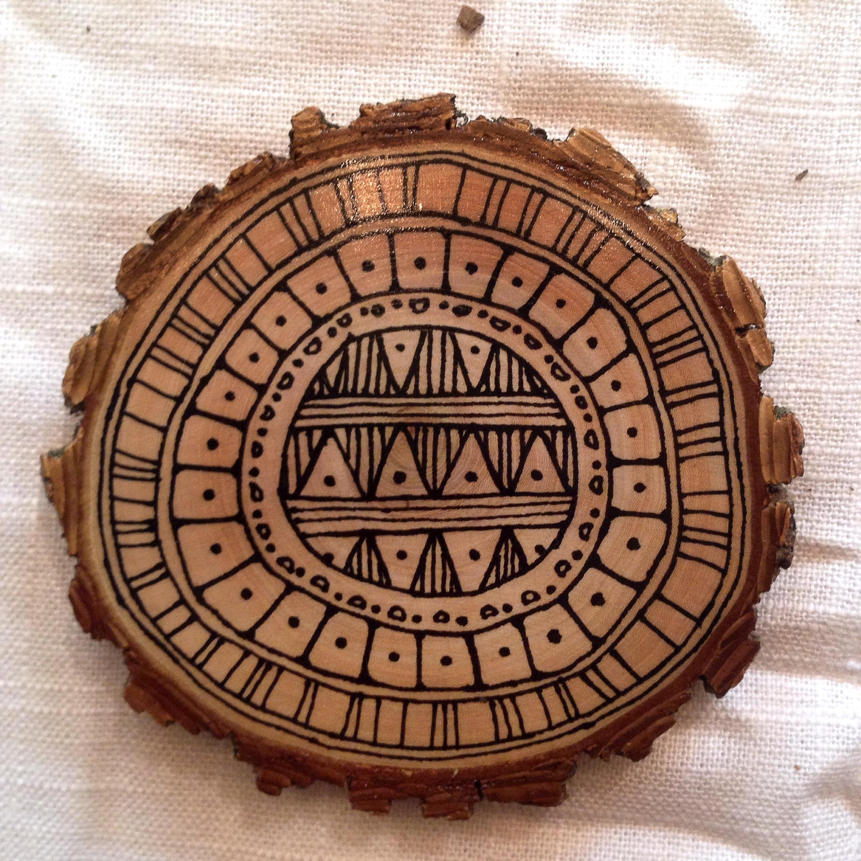 Geometric Celebration Coaster