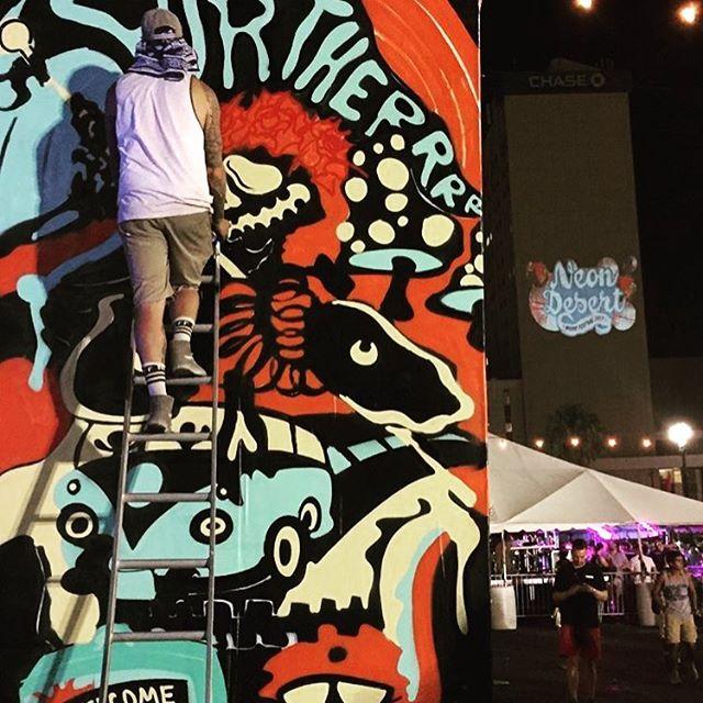 Neon Desert Music Fest day one  @ndmf 📷 @dasfuego #norulesamonggoons