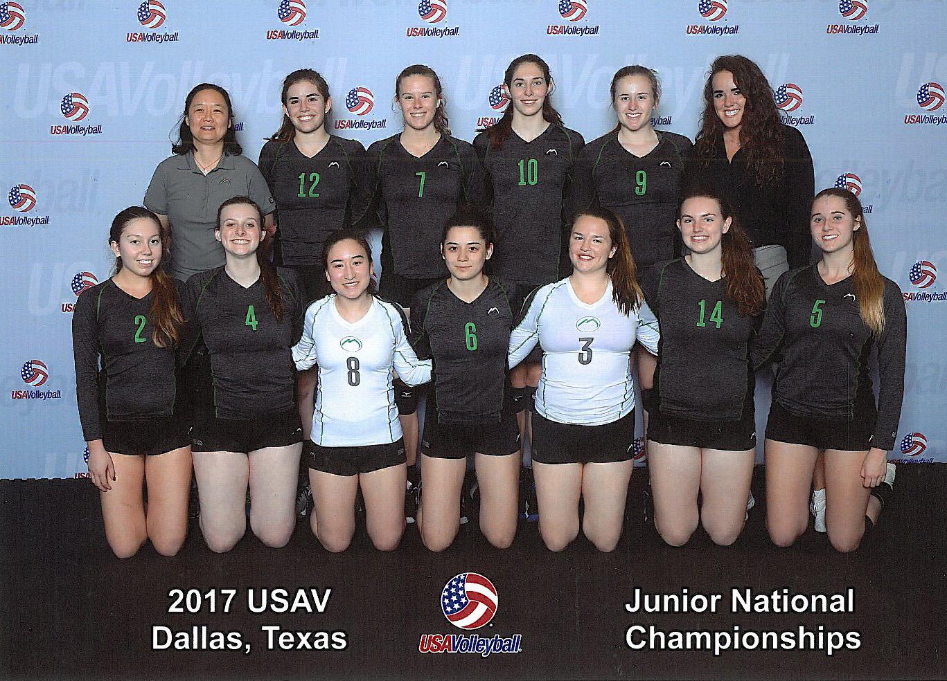 18 Black- Junior National Championships - USA Division