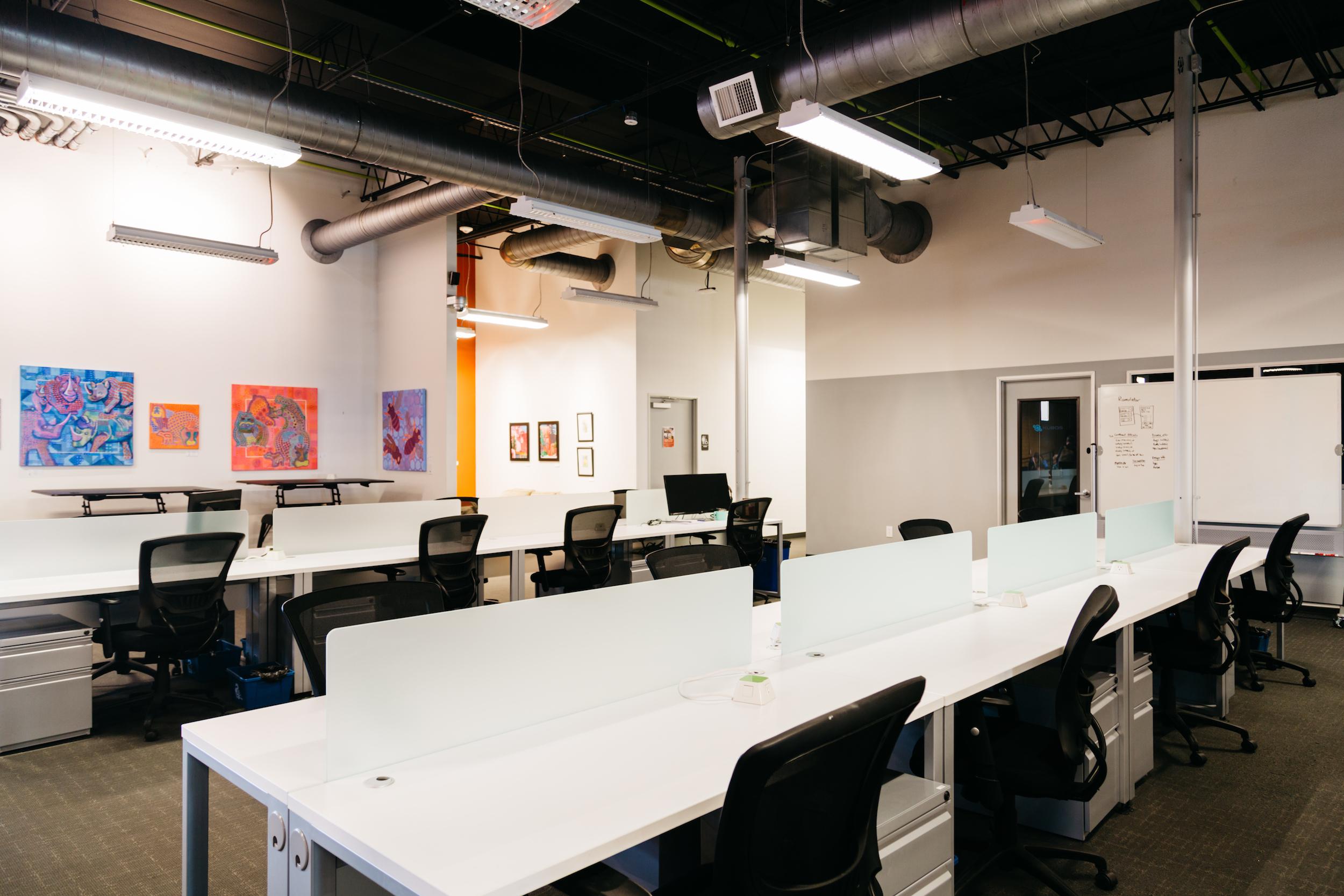 Dedicated deskspace