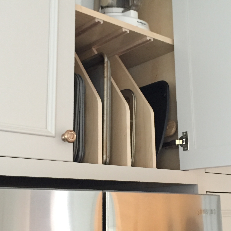 Cutting board cabinet