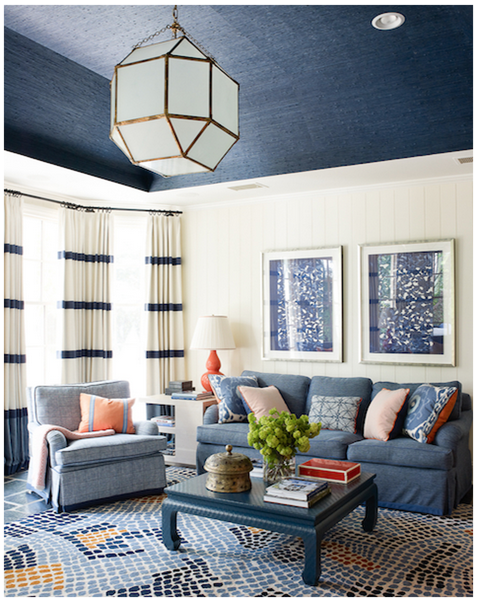 Credit: Design by  Lindsey Coral Harper ; Image via  HouseBeautiful