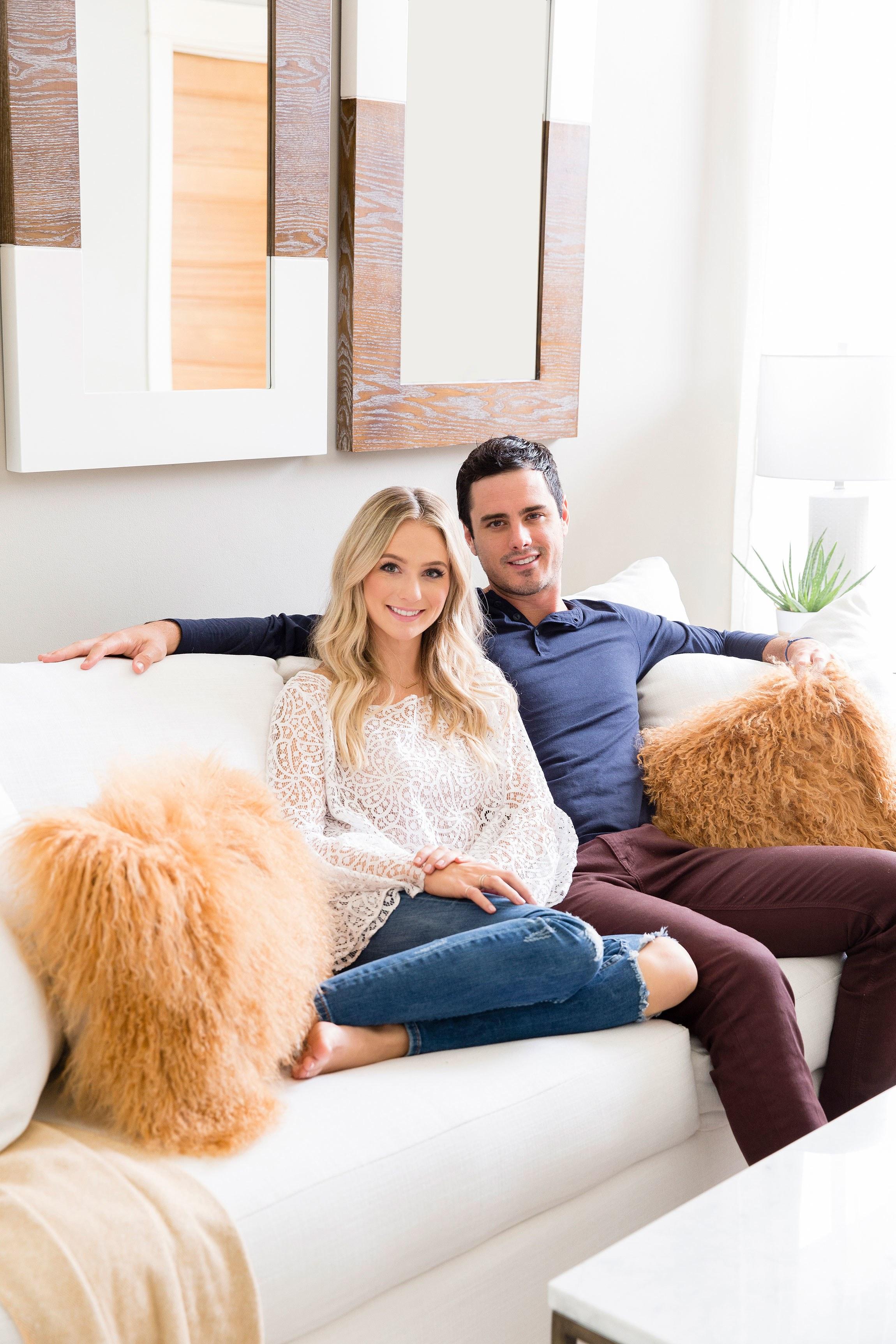 Lauren Bushnell and Ben Higgins home