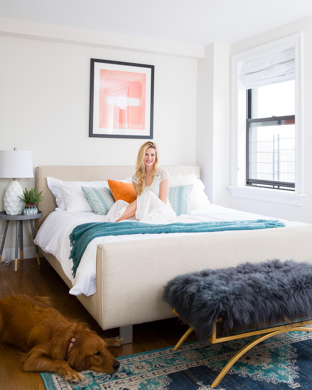 Barefoot Blonde bedroom