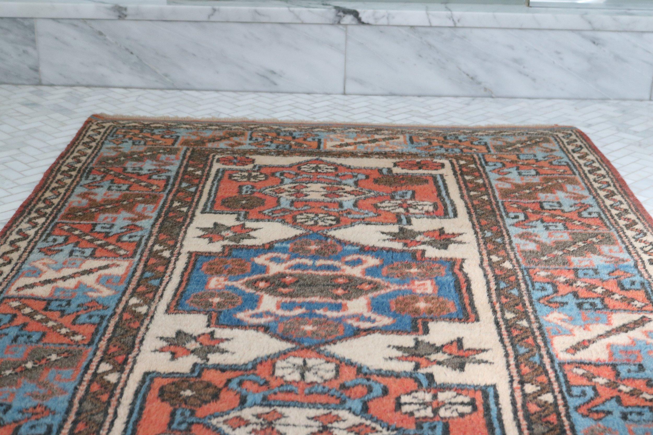 Vintage-Turkish-rug-detail