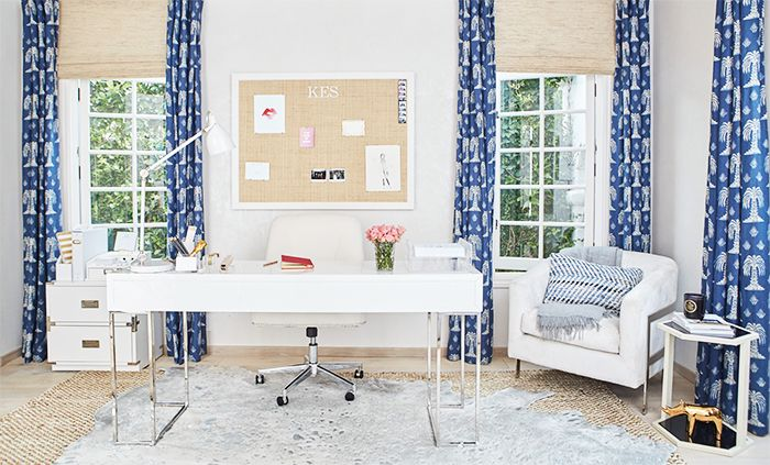 A room I updated for author and blogger Katherine Schwarzenegger on behalf of Joss & Main.  Image credit:  Lu Tapp  for  Joss & Main