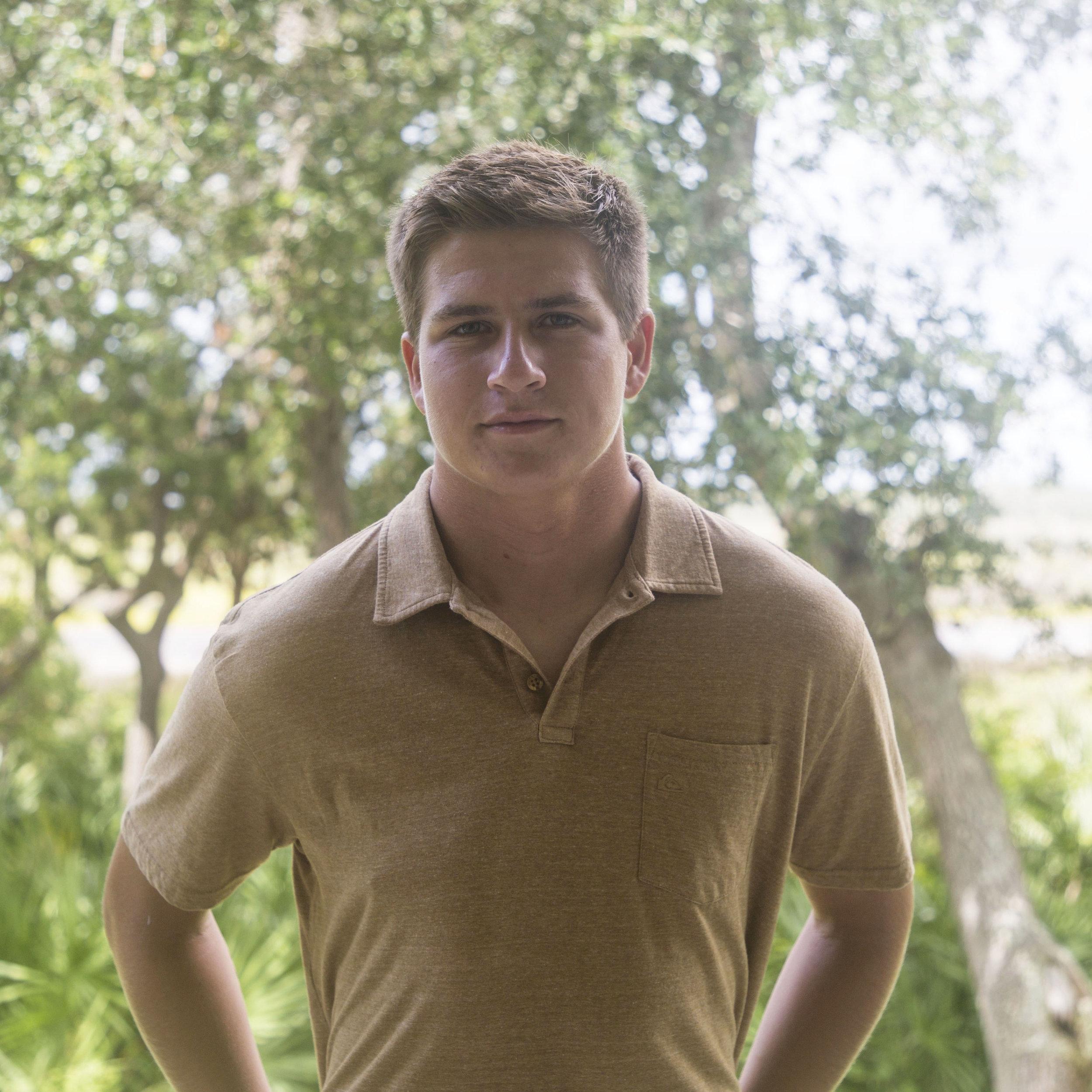 Ian Bunch - 2017  Fore Hadley Hope Scholarship Recipient