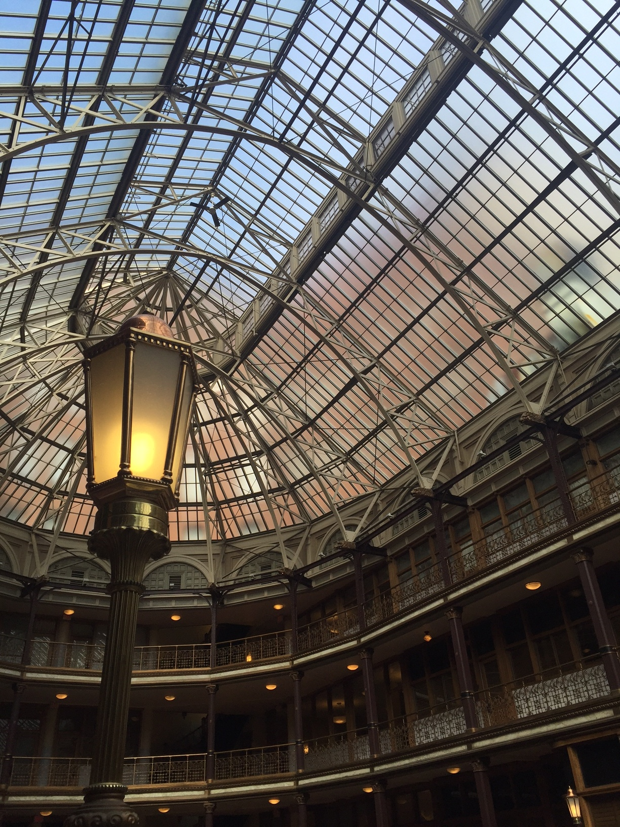 Isn't the Old Arcade just beautiful?! One of my favorite spots in Cleveland!