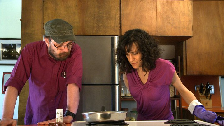 """""""Cooking with Brain Injury"""" is a short comedy film with an insider look into realistic everyday difficulties after brain injury. It shows emotional outbursts, confusion and disorganization. And it relies on humor because after laughter comes more acceptance, hope and creative problem-solving. Follow Bill and Cheryl as they show how the truth really is stranger than fiction.   Created in collaboration with brainreels films http://storyminders.com/film/"""