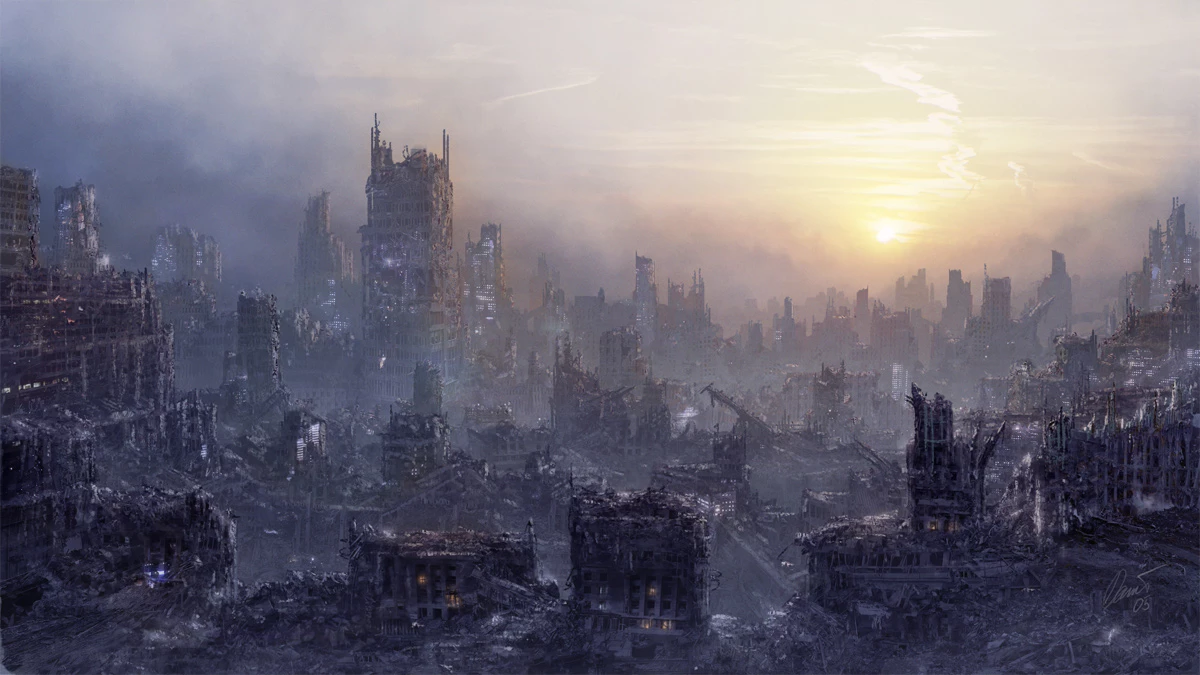 Deadlands Hunters Society - by JohnA post-apocalyptic Shadowrun actual-playWatchImage: by Daniel Kvasznicza