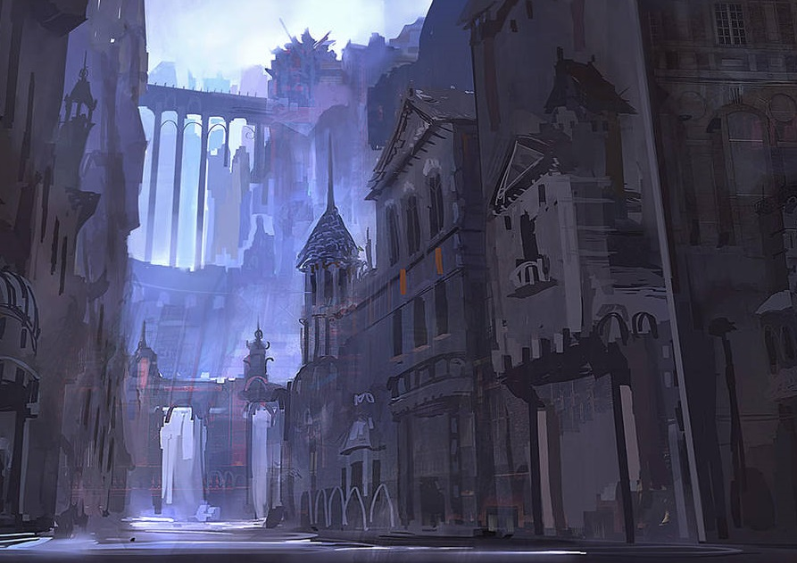 """Everyone is Warlocks: Conflux - by JackA gothic fantasy tale of powerful patrons, inexperienced warlocks, and the trials and discoveries brought by new magics.ListenWatchImage: """"Speed Painting"""" by Robin Olausson (eWKn)"""