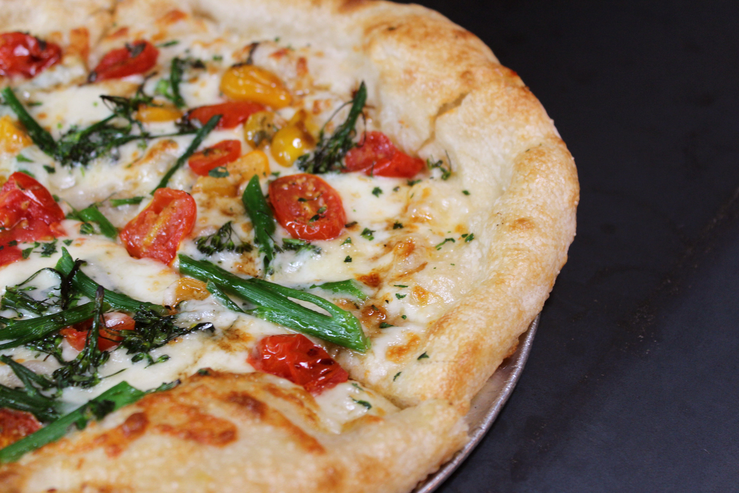 seasonal special pizza