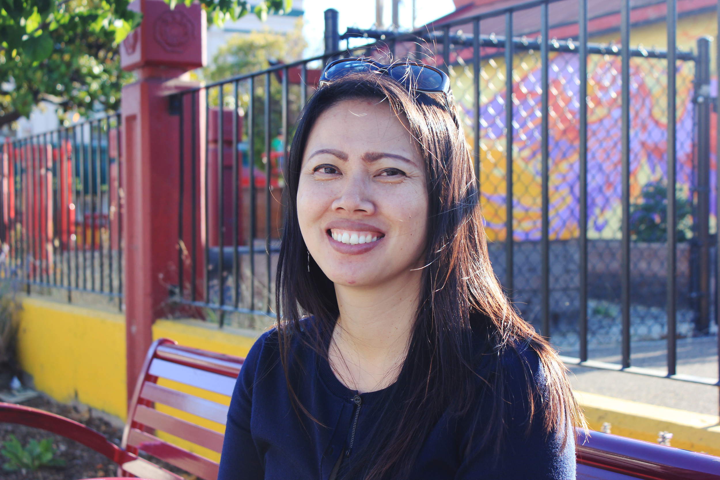 """""""I feel like it's part of Oakland — this racial makeup of Chinese and Vietnamese here. It's just easy being who I am here. I don't feel out of place.""""  — Han Fan"""