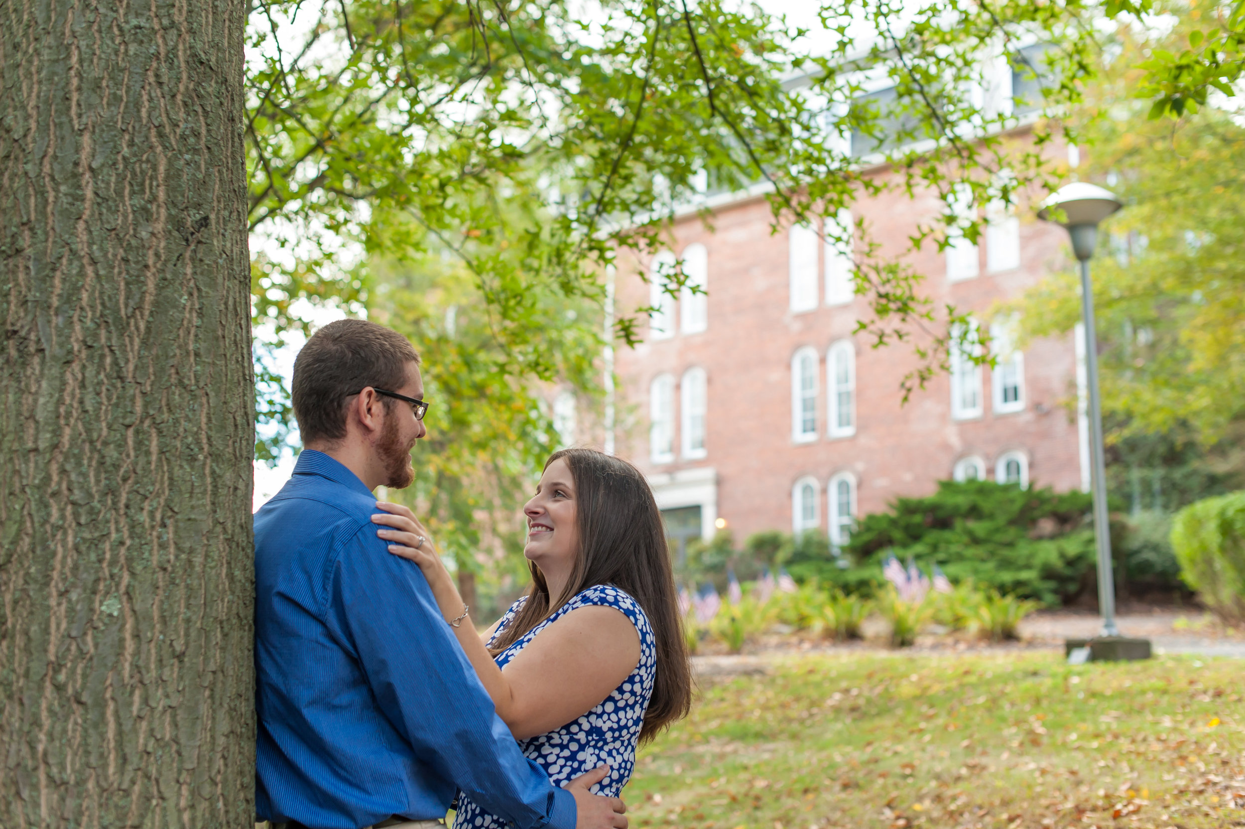 Engagement Session at Keystone College, PA