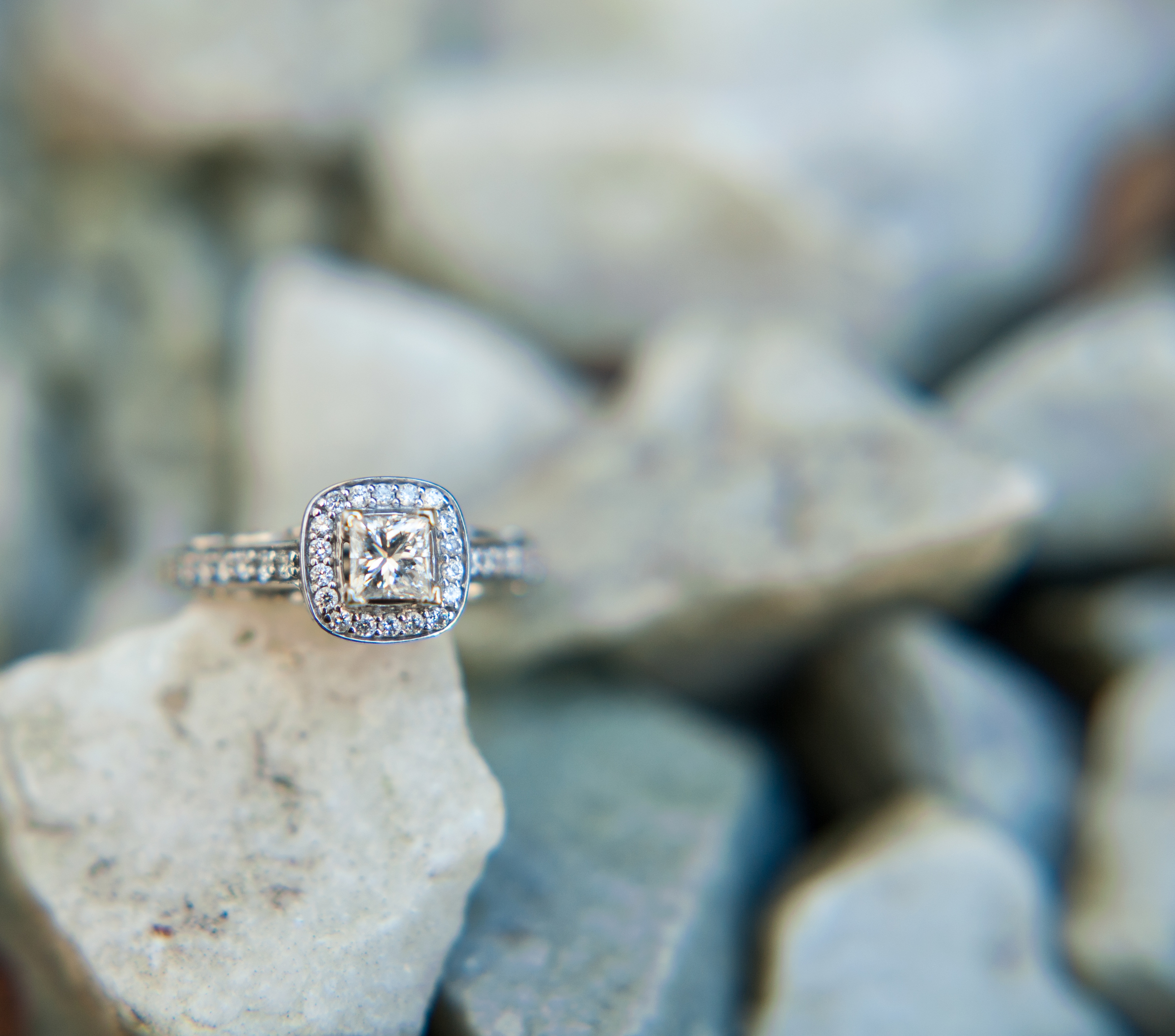 Diamond Ring - Wendy Zook Photography -- Rochester Wedding Photographer
