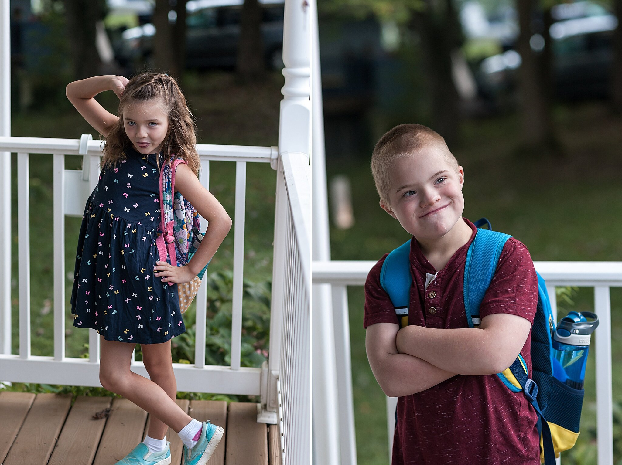Wendy Zook Photography | First day of school photos