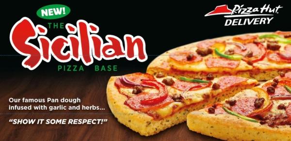 Pizza Hut's Sicilian Pizza
