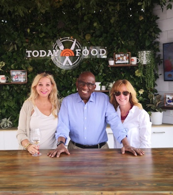 Our buddy Al Roker for Today Food for the Charleston Wine + Food Festival