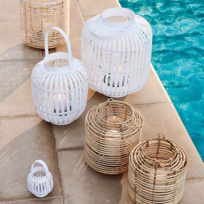 West Elm Outdoor Lanterns