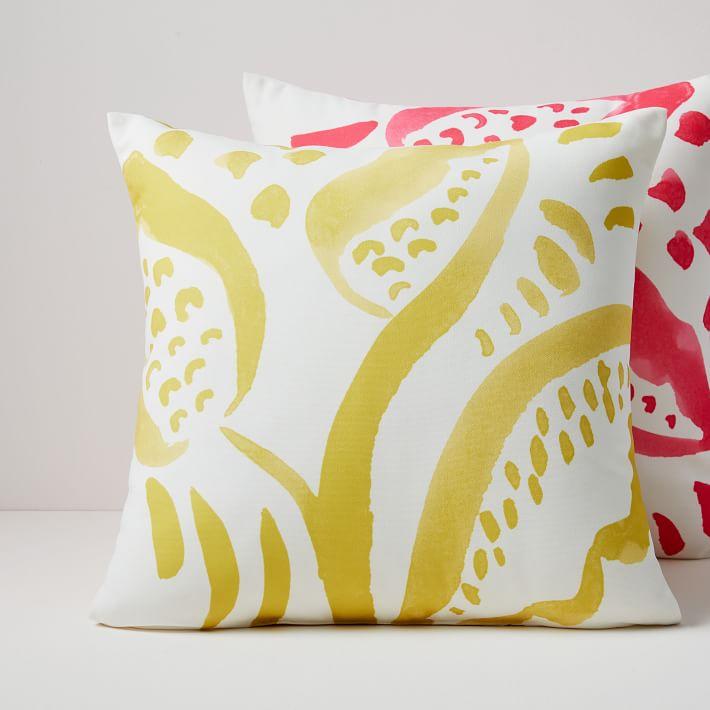 West Elm Outdoor Decorative Pillows