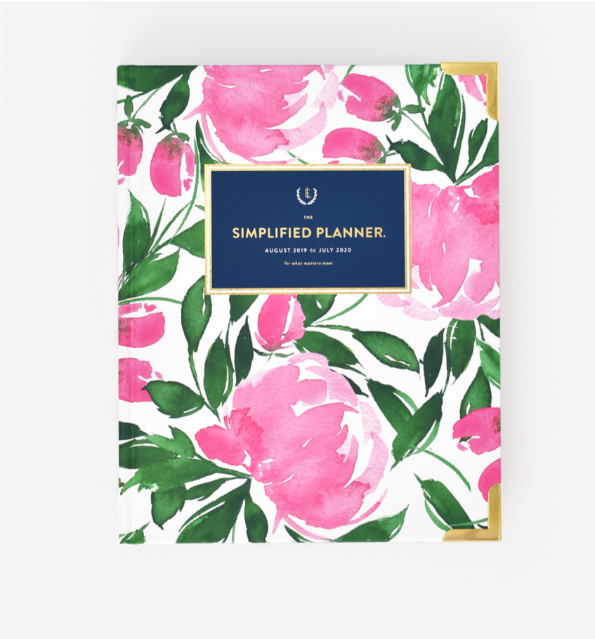 Garden Party 2019-2020 Weekly Simplified Planner