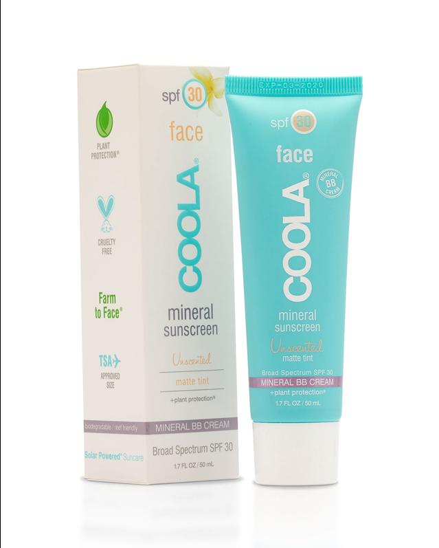 Coola Mineral Face SPF 30 Matte Tint Face Sunscreen, 1.7 oz.
