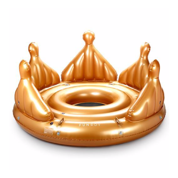 Royal Crown Island Float