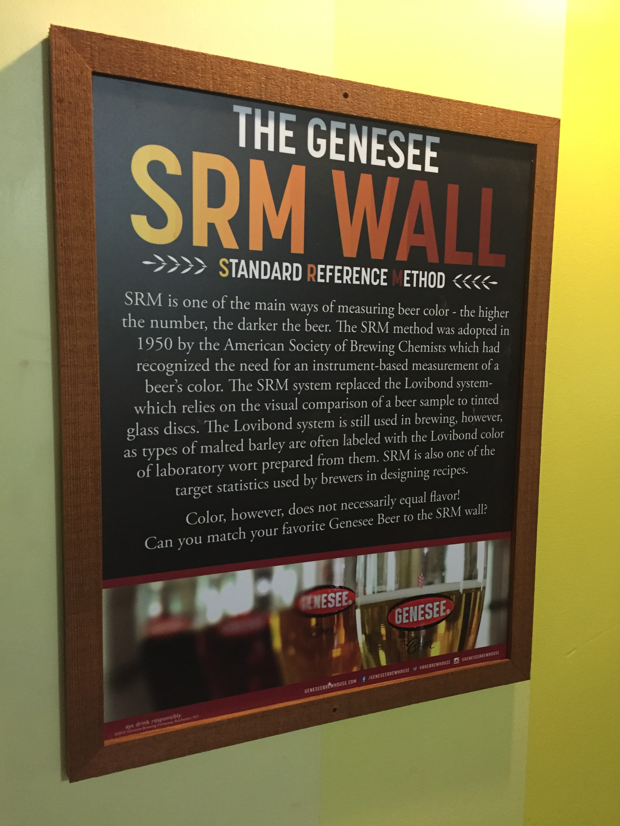 SRM Wall Sign