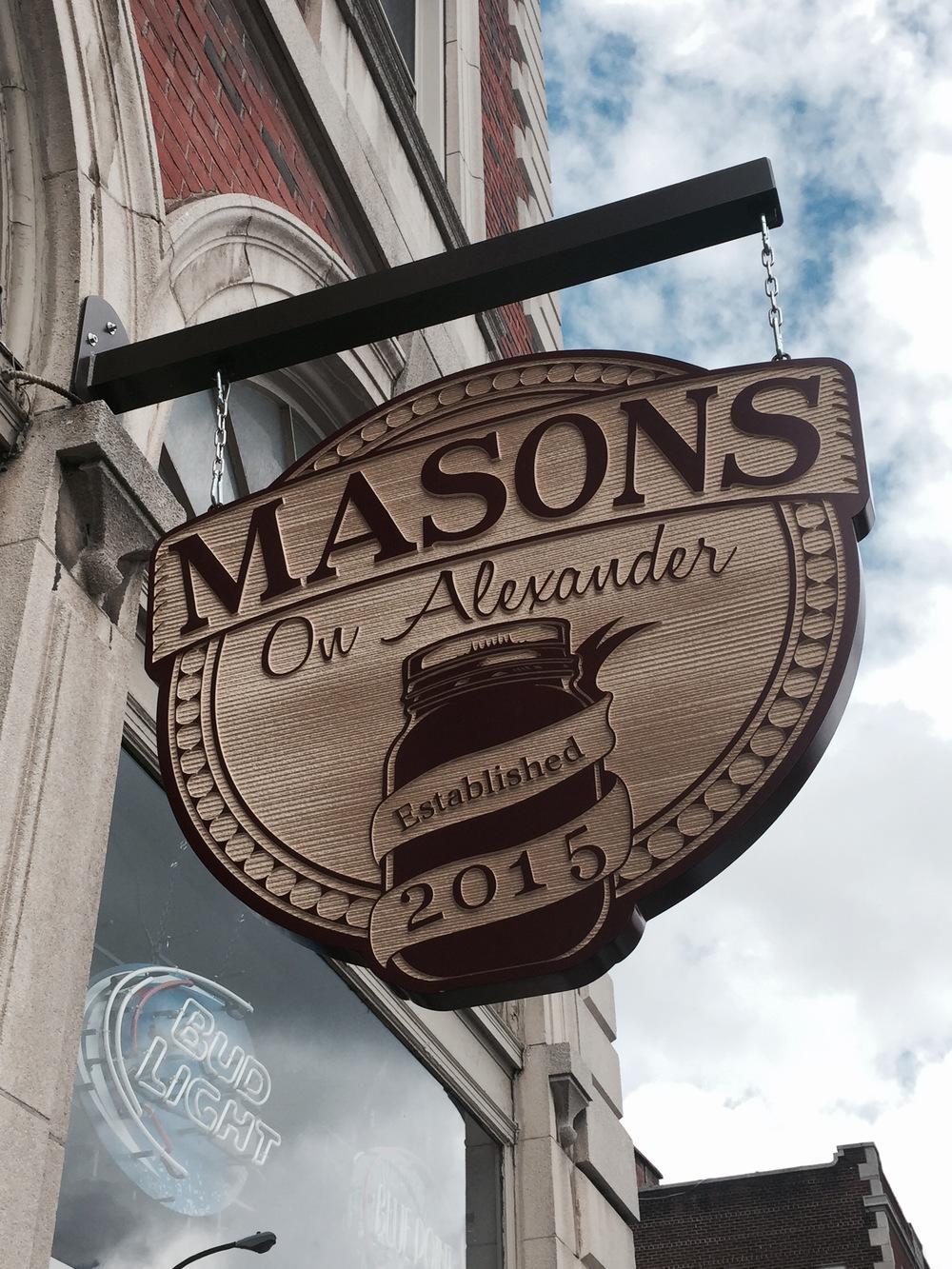 Masons On Alexander