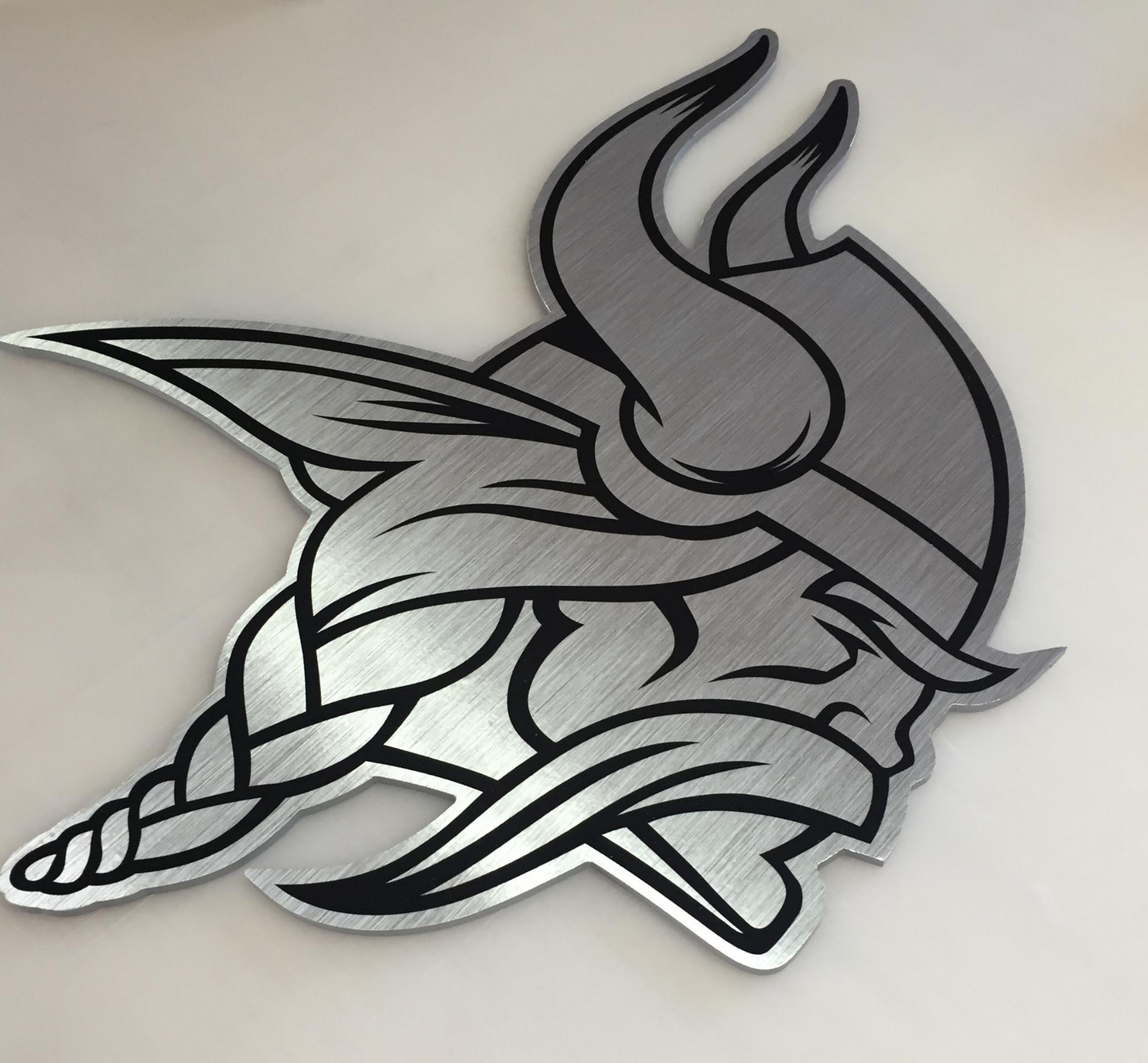 Minnesota Vikings Plaque