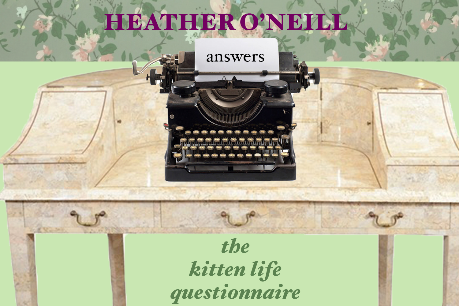 heather o'neill, the kitten life, lullabies for little criminals, the lonely hearts hotel