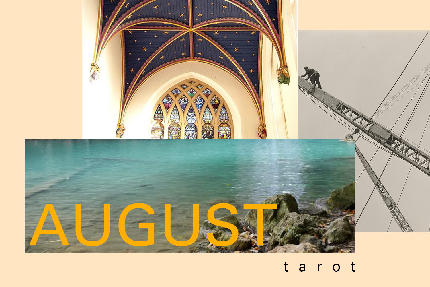 AUGUST 2017 TAROT READING: THE STAR & THE THREE OF PENTACLES